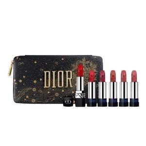 DIOR - Golden Nights Lipstick Set and Case